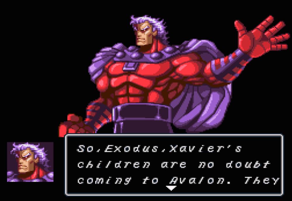 Magneto cutscene