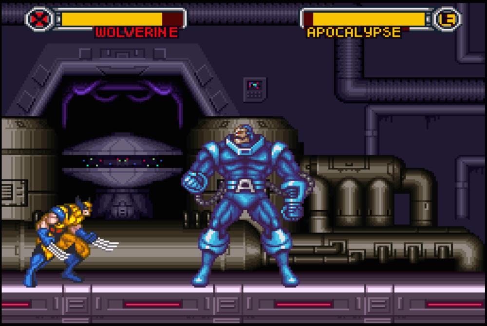 Wolverine vs Apocalypse