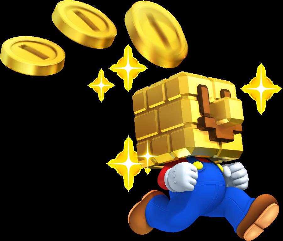 Gold Block Mario