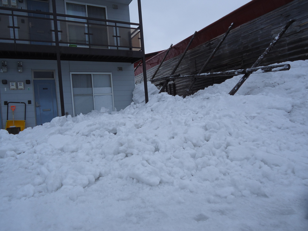 Rooftop Avalanche Aftermath