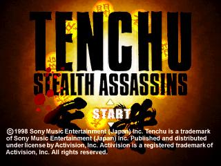 Tench titlescreen