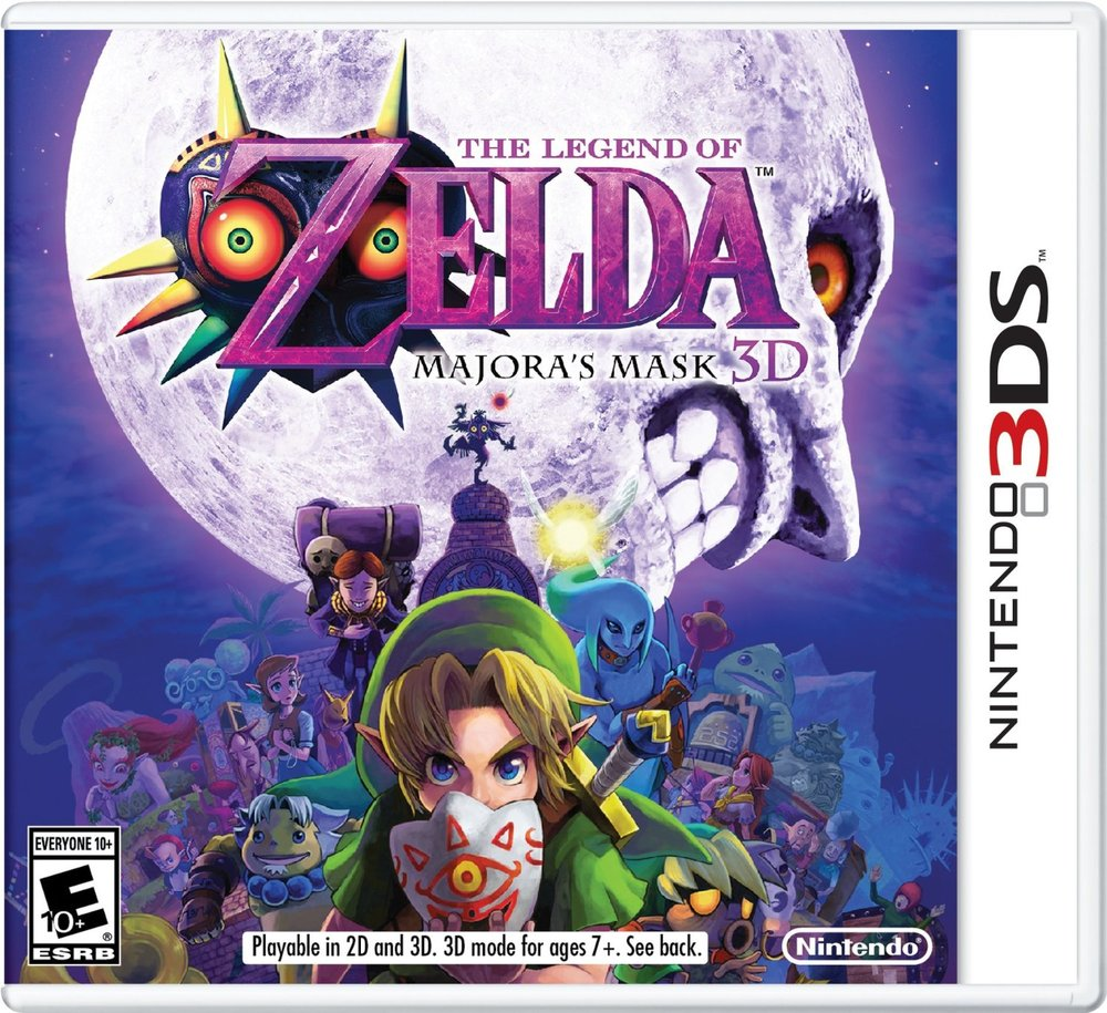 Zelda MM3d box art