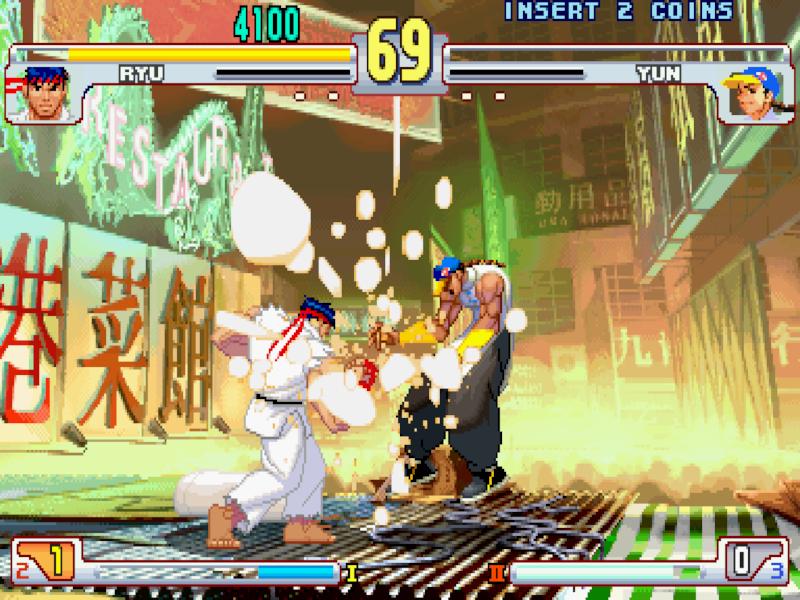 Street Fighter III 3rd Strike: a true masterpiece.