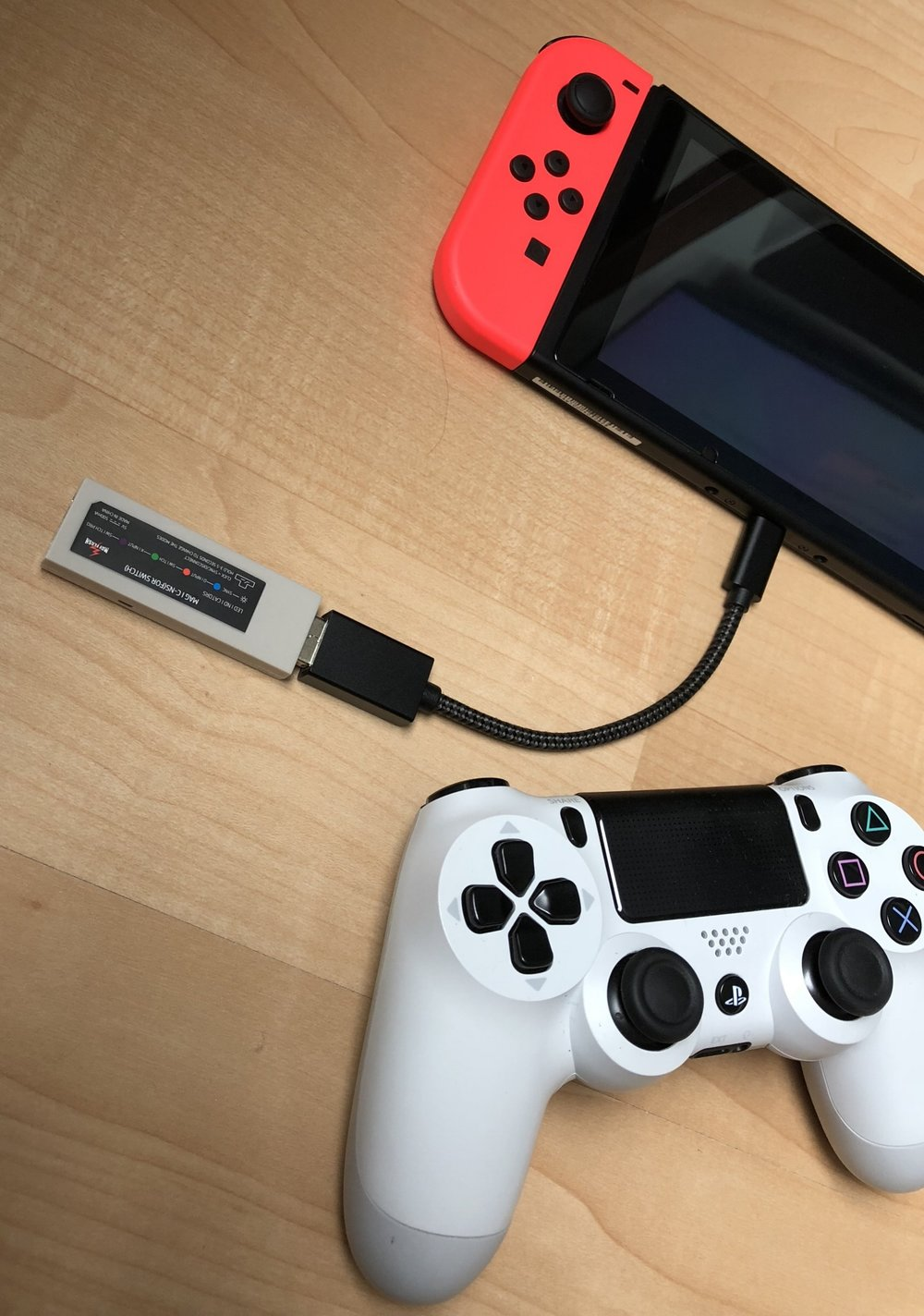 How do i turn on my nintendo switch controller