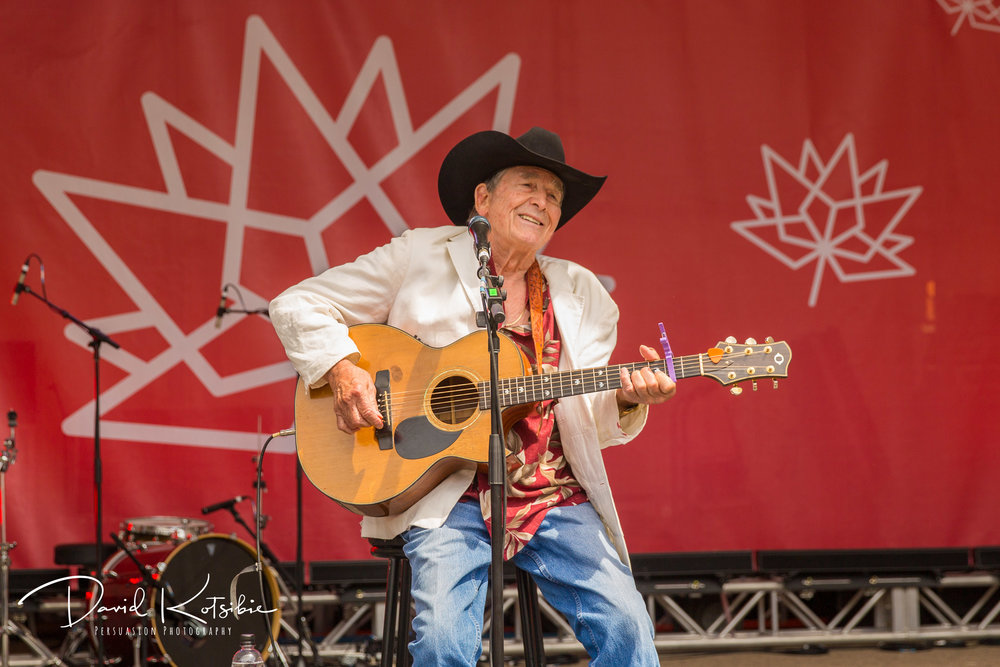 Ian Tyson - Canada Day Performance