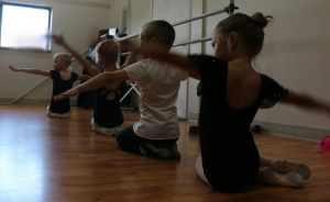 Students of the Children's Dance Program