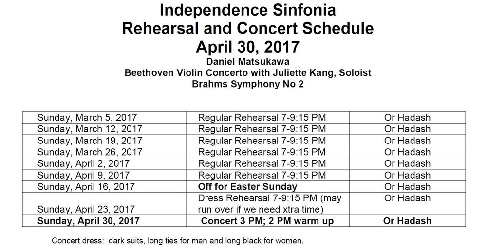 April 30 Concert Revised Rehearsal Schedule.JPG