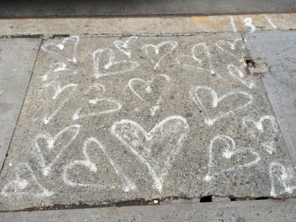 Love from the streets of New York City to Italy.