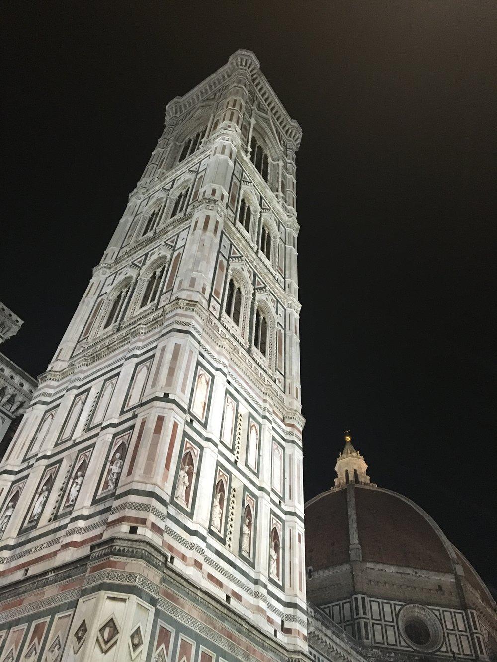 Buonanotte a Firenze. A domani..