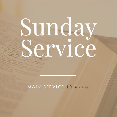 Sunday Service at West Toronto Baptist Church at 10:45am ET