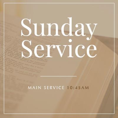 Sunday Service at West Toronto Baptist Church at 10:45am ET