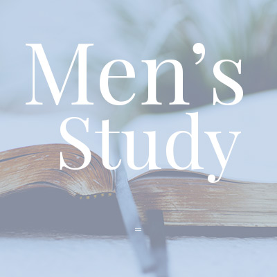 Men's Study at West Toronto Baptist Church