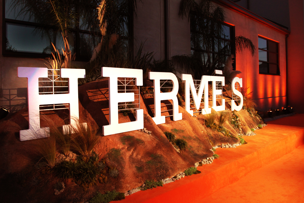 Hermes Beverly Hills Opening