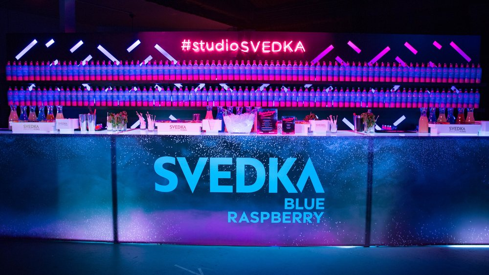SVEDKA Blue Raspberry Launch