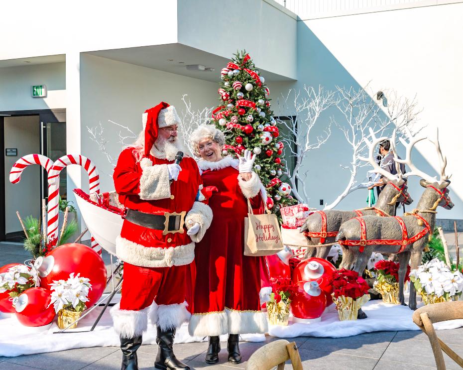 Westfield Cocoa with Santa