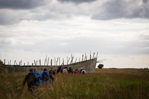 Kalvebod Fælled og Arken. Foto: Thit Andersen