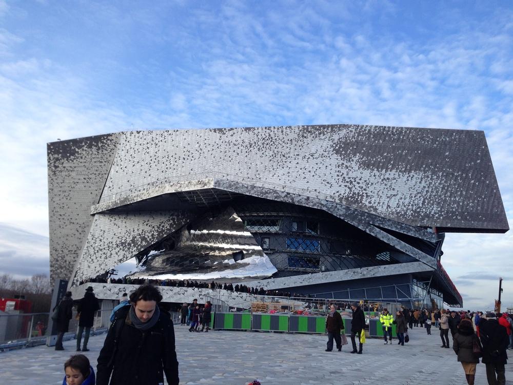 Philharmonien i Paris af Jean Nouvel