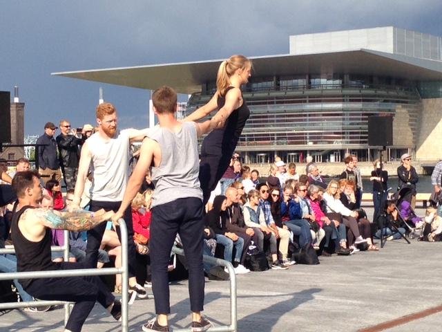 Åbningen af Ofelia Plads 29. juni 2016 med udsigt til operaen