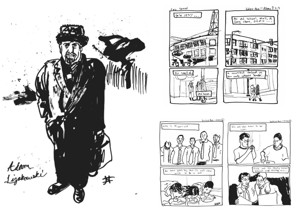 Images courtesy of Illustrated Press