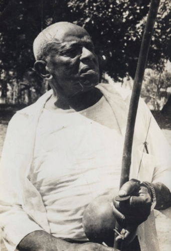 Mestre Bimba and his Berimbau