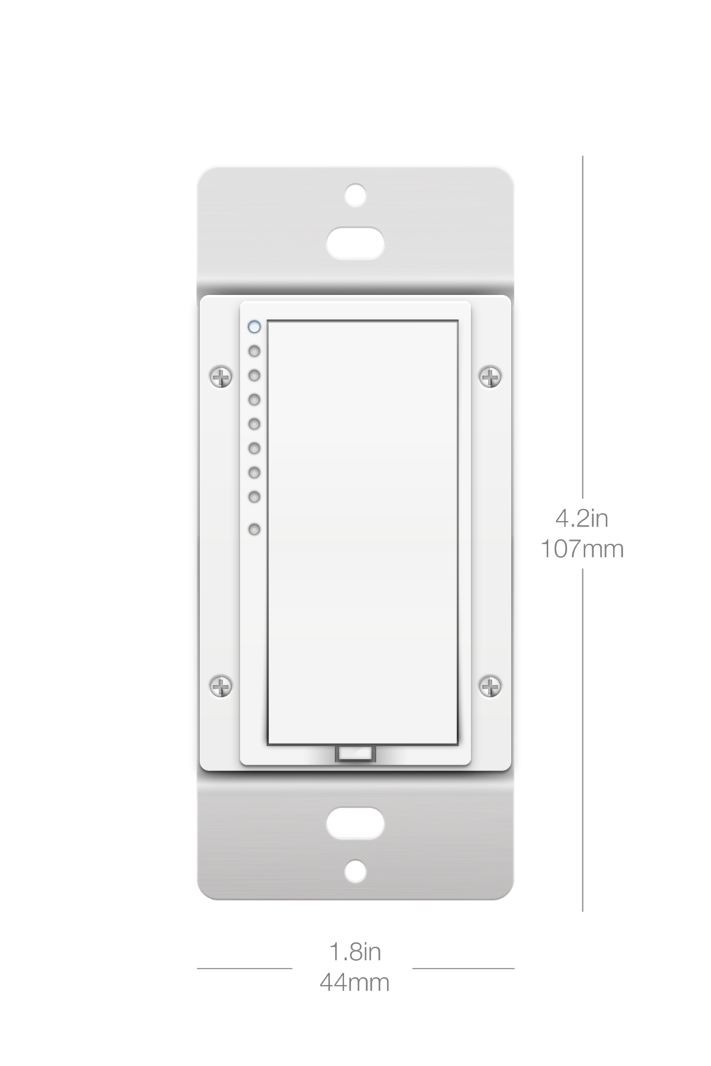 Wall Switches Insteon Four Way Switch Motion Sensor Dimensions On Off