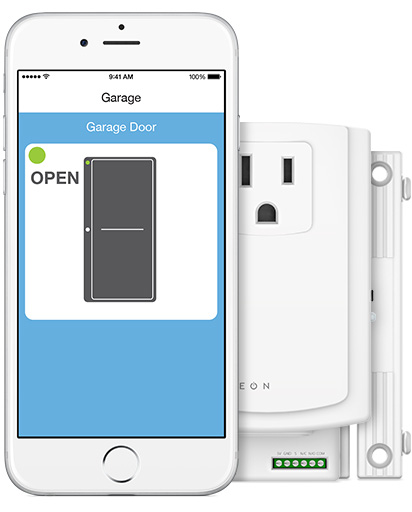 Know If You Accidentally Left The Garage Door Open And Remotely Close It If  Necessary. When The Insteon Garage Control U0026 Status Kit Is Used With The  Insteon ...