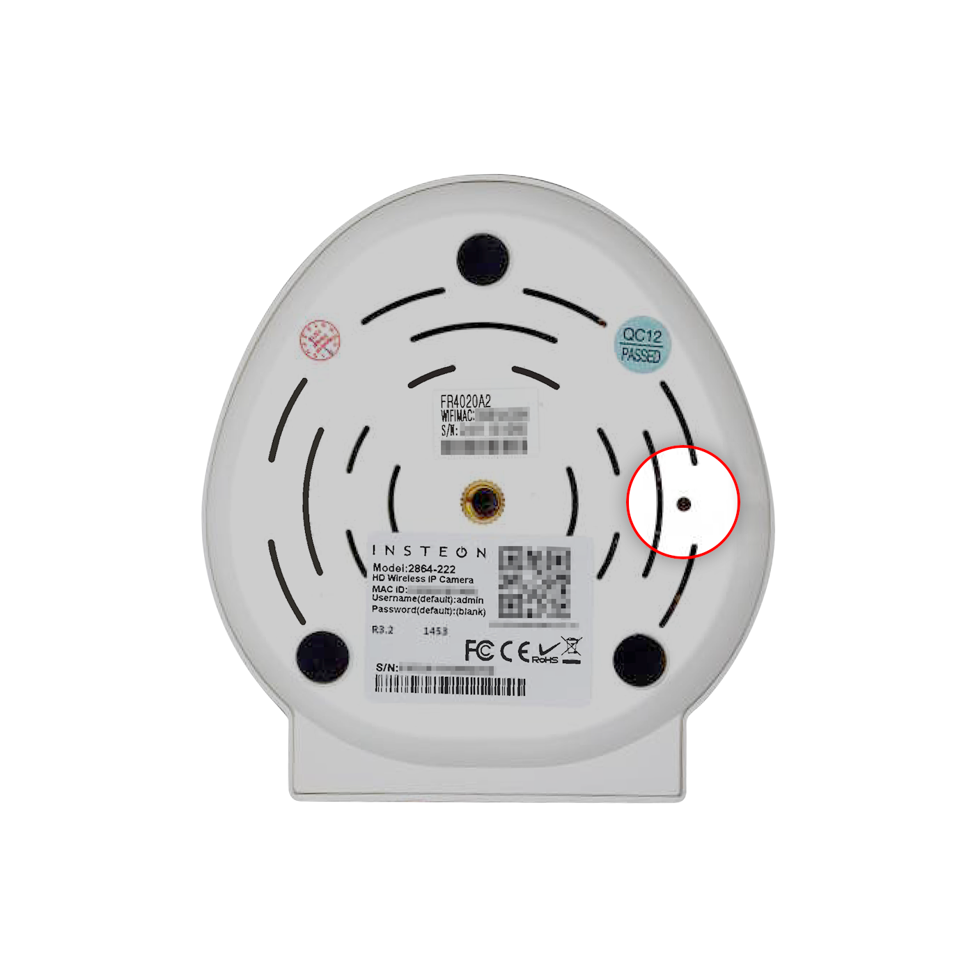 Factory Reset an Insteon Wi-Fi Camera — Insteon