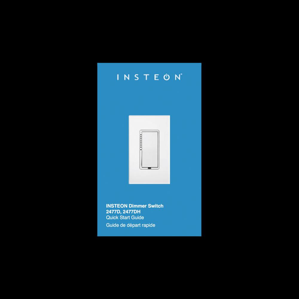Dimmer Switch Guide De D 233 Part Rapide Insteon
