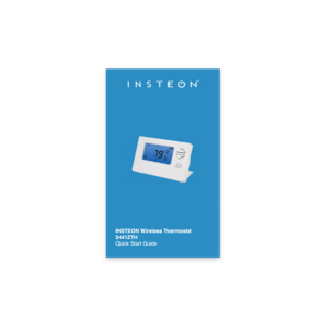 Support knowledgebase insteon wireless thermostat quick start guide publicscrutiny Gallery
