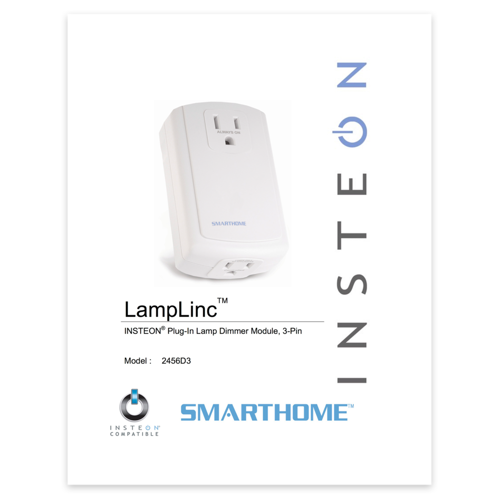 Smarthome Smartlabs Insteon 2475D In linelinc Dimmer 300w