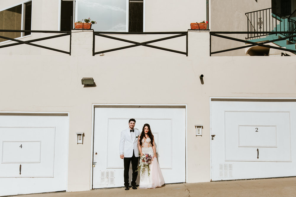 Jaime & Ben - Jewish Wedding - Cuvier Club, La Jolla, California | CRM Media | www.crm-media.com