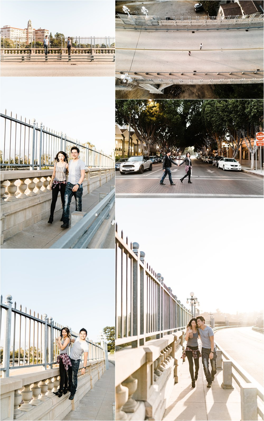 Colorado-Street-Bridge-Old-Town-Pasadena-Clarisse-Rae-Southern-California-Wedding-Photographer