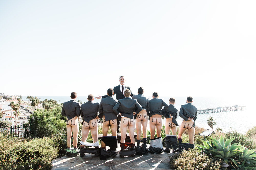 Ahhhh good ol' groomsmen pranks.