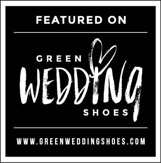 Green Wedding Shoes Feature Badge - Clarisse Rae Photo & Video - Boho Bliss Airstream Engagement Session in Joshua Tree
