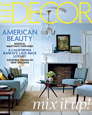 The Great Escape      Elle Decor, p.104    July/August, 2008