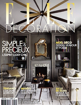 Le Reve Americain (American Dream)    Elle Decoration, p. 148   December, 2015