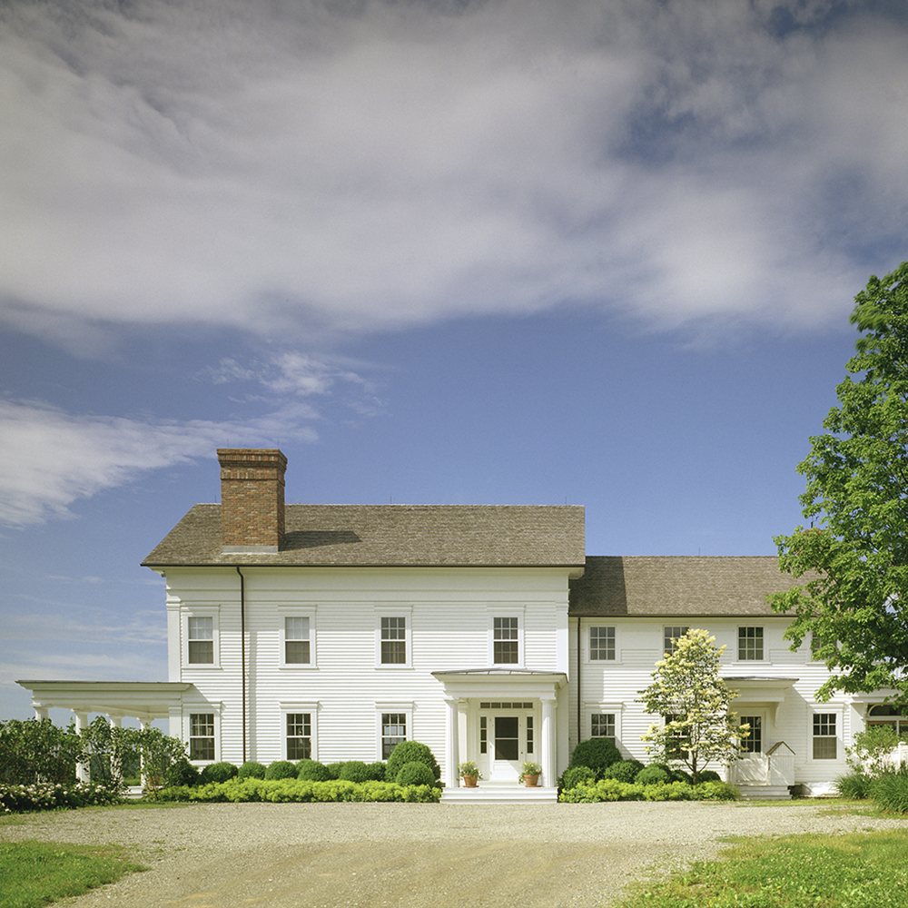 greek revival farmhouse