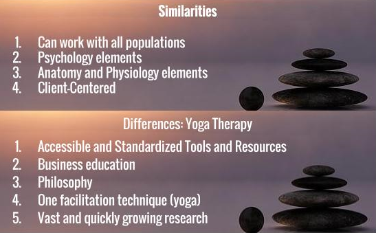 The Similarities And Differences Between Fields Explain Why They Fit Together How Therapeutic Yoga Can Enhance A TR Certification