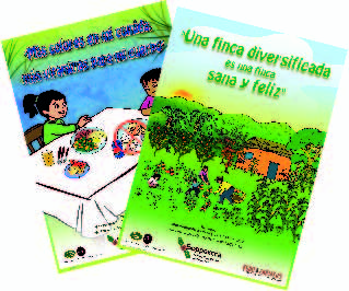 Food Security campaign posters in Nicaragua.     Project of Food 4 Farmers & Soppexcca.