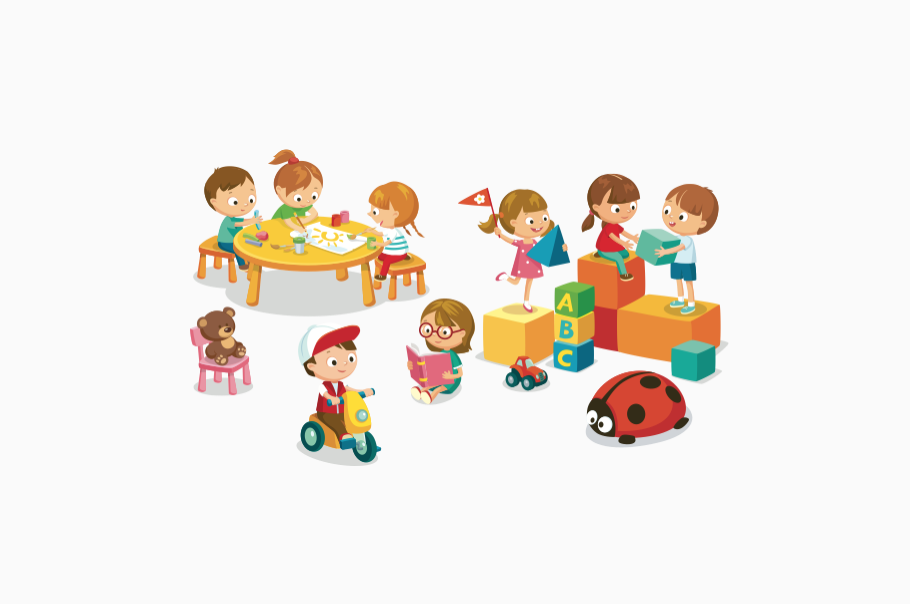 PECS Children Playing