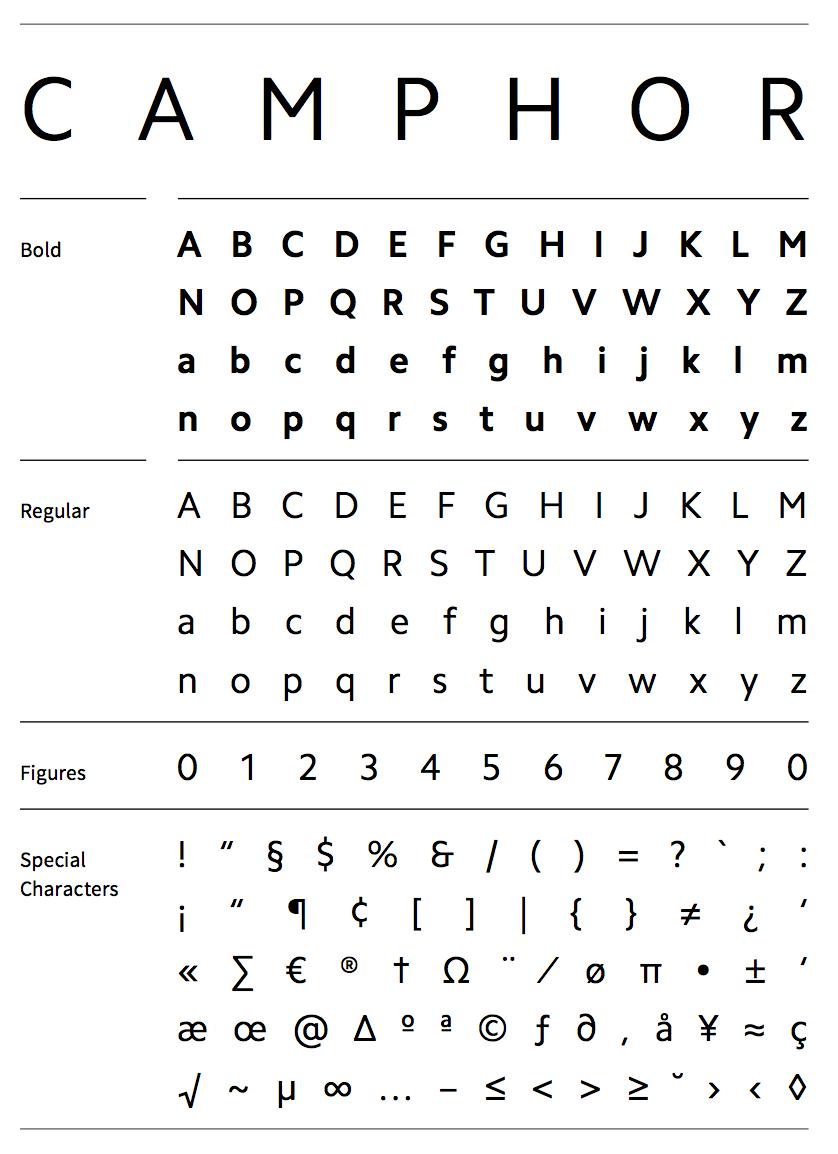DelCampo Font
