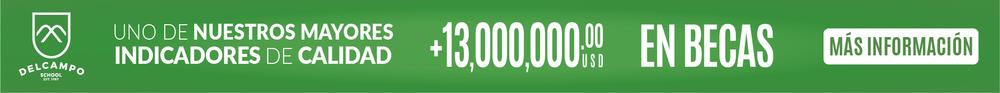 $13 Millones en Becas