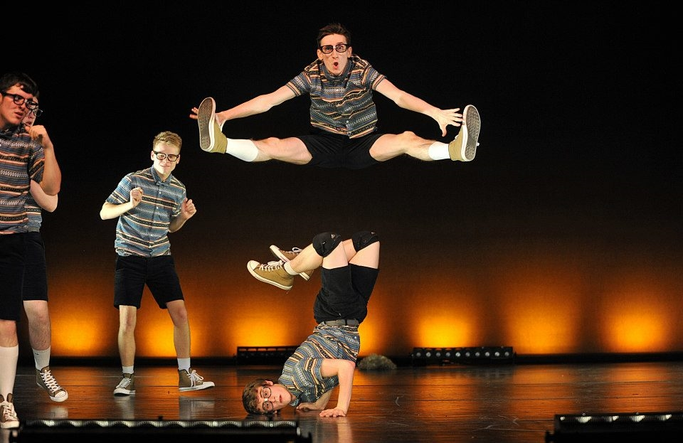 """Fearless"" male dance troupe"