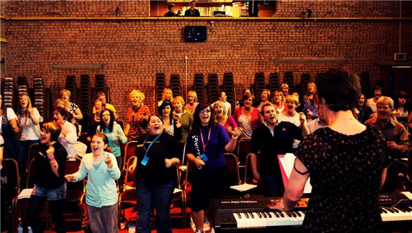 Gospel and Soul Rehearsal
