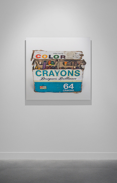 Yu-Cheng  Chou ,   64 Crayons Made in the USA,   2009. Photograph, 100 x 100 cm. © Yu-Cheng  Chou .