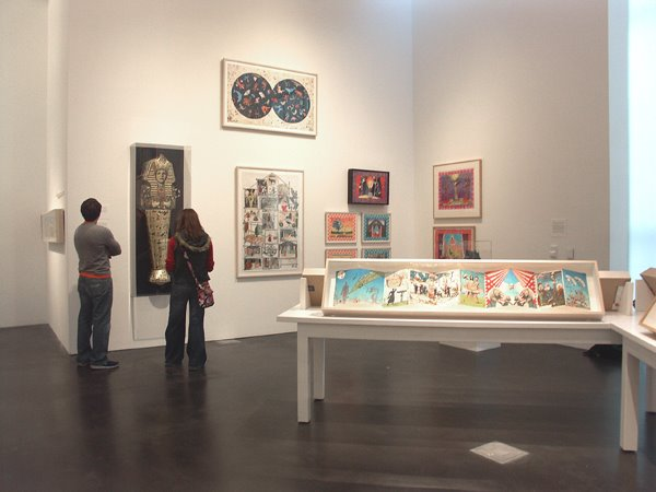 Installation view of  The Legend of Bud Shark & His Indelible Ink  at Museum of Contemporary Art DENVER, February 3 – June 28, 2009.
