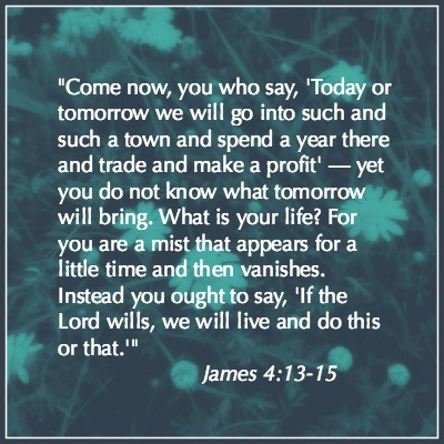 James 4:13-15