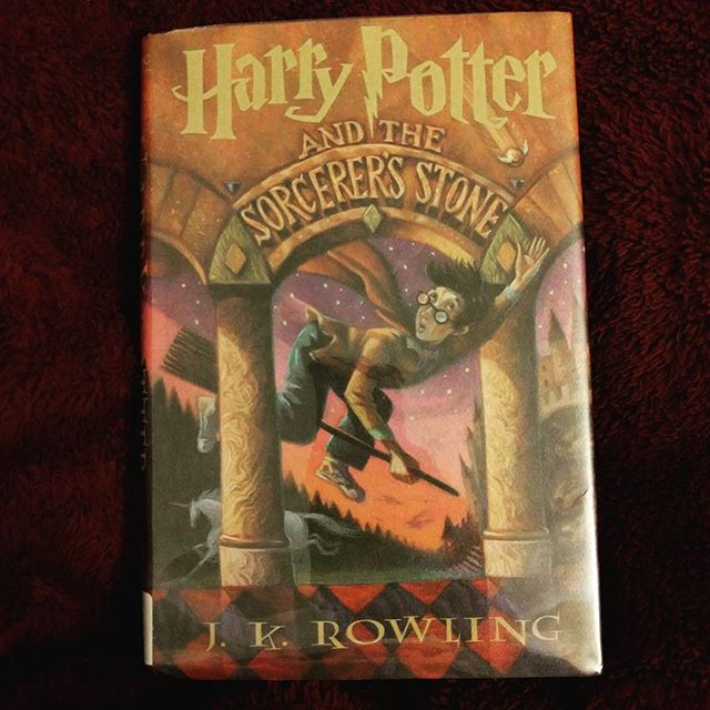Time to see if #HarryPotter lives up to the hype. #skeptic #nearly20yearslater #betterlatethannever