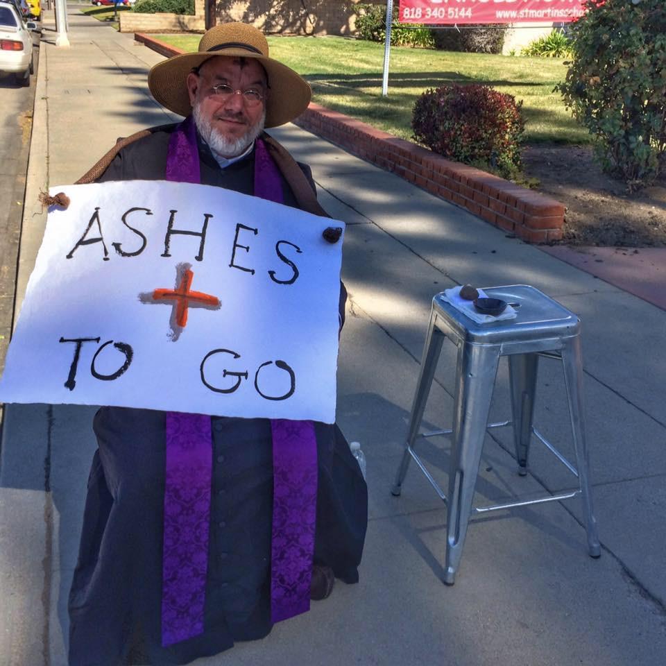 Lonely in Winnetka on Ash Wednesday?