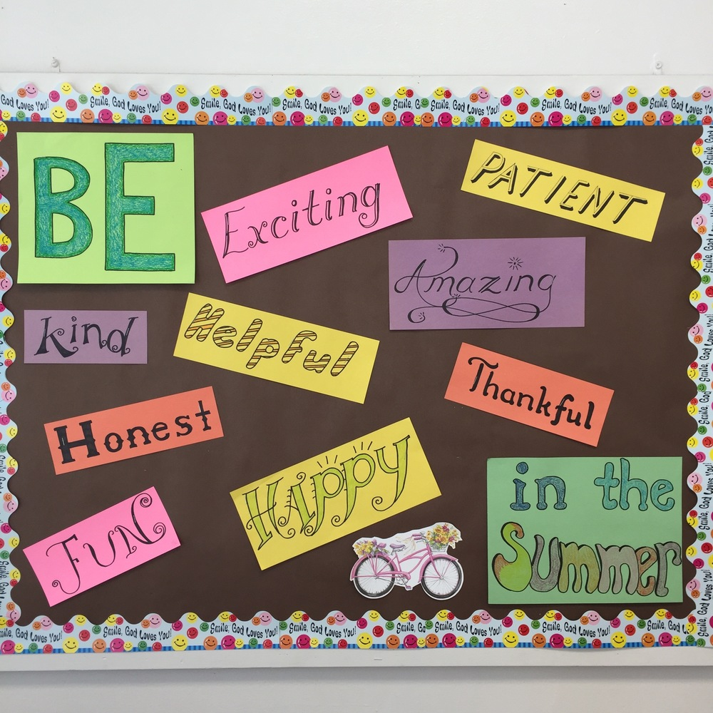 the last bulletin board